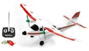 RC Model Airplane R/C SYMA 9399 Training Plane ARF Images