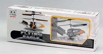 Eagle Looking Infrared Mini Rc Helicopter Box