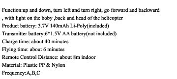 About Infrared Mini Helicopter With Flashing Light