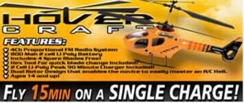 Park Flyers RC Hovercraft RTF 4CH Helicopter