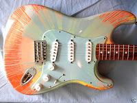 Fender Stratocaster Splatter Orange