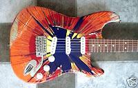 2003 Fender Stratocaster Splatter
