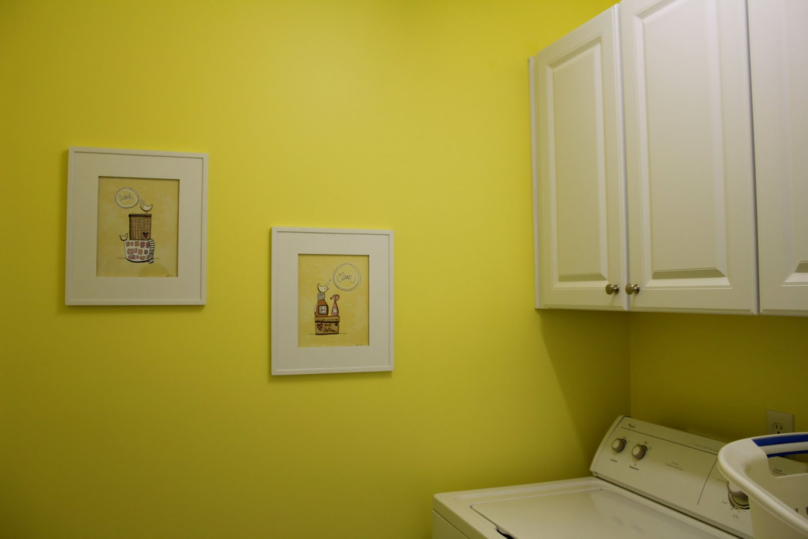 Beauty in the Ordinary: Cute Laundry Room Art