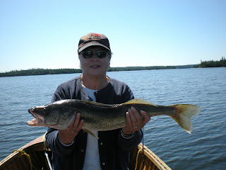 26 1/2 inch Trophy Walleye Fishing Canada