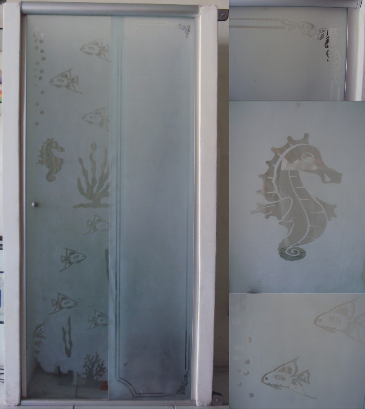 #474F5B Um box de vidro para banheiro pode cair muito bem na decoração de  798 Limpar Janela Aluminio Encardida