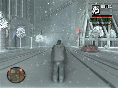 gta san andreas 2. GTA San Andreas ( Snow Mod )