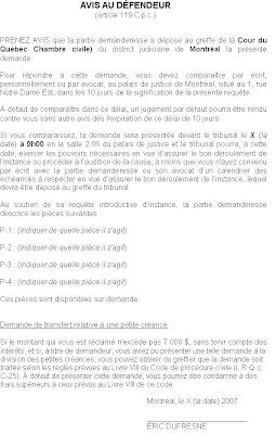 code de procedure civile quebec pdf