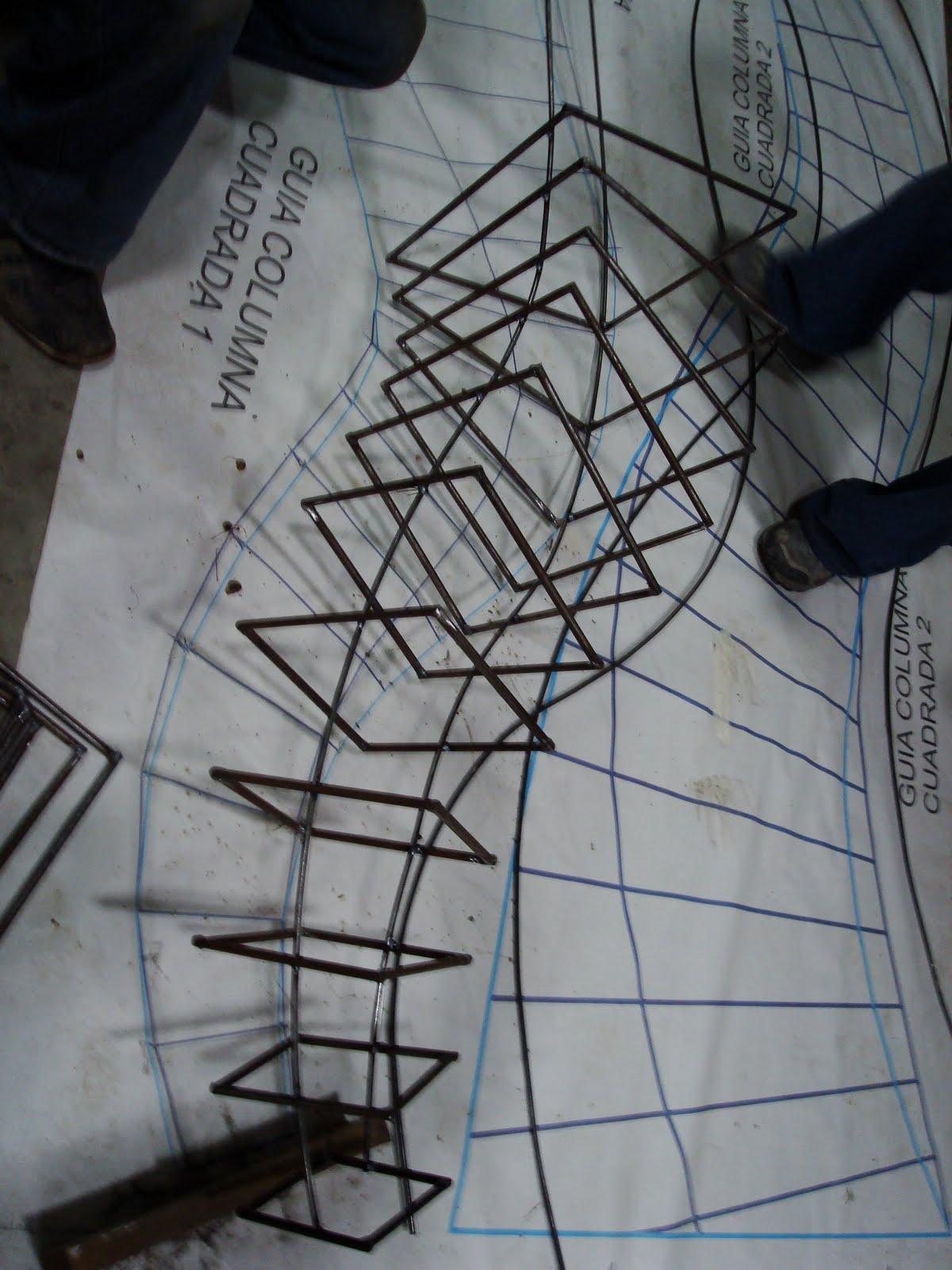 Interior137 arquitectos columna parametrica avance for Arquitectura parametrica