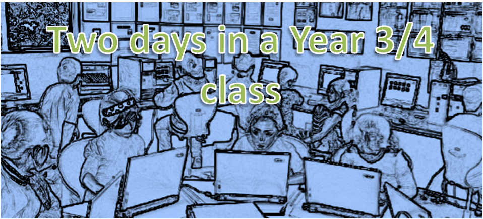 Two days in a Year 3/4 class