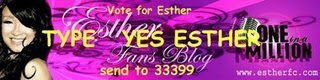 Vote for Esther OIAM