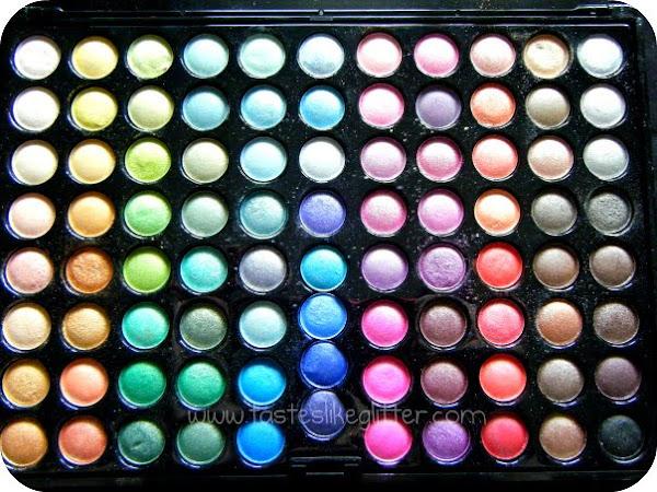 Coastal Scents 88 Shimmer Palette.