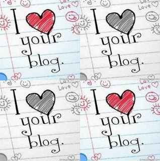 Award: I Love Your Blog.