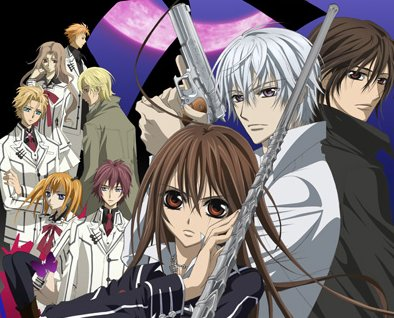 Top 5 series de anime favoritas Vampire+knight