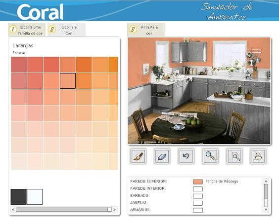 Tintas coral simulador de ambientes - Pinturas bruguer simulador de ambientes ...