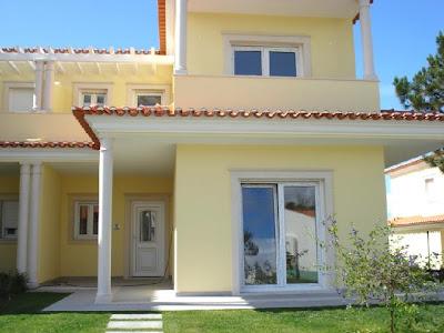 Fachadas de casas modernas for Pinturas de casas modernas