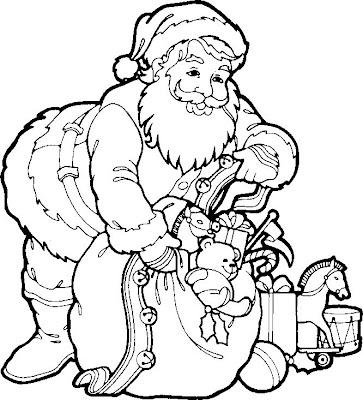 desenhos para colorir sobre o natal
