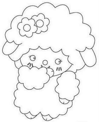desenho da ovelha
