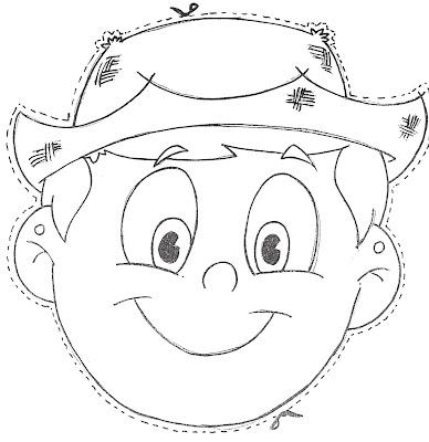 mascara para criança