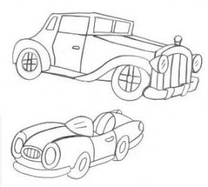 carros de colorir