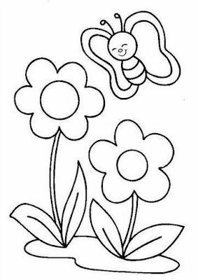 risco para patchcolagem flor