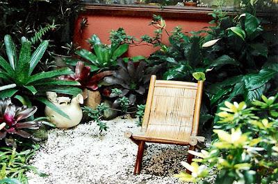 jardins residenciais com pedras