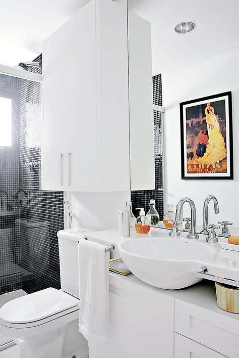 Banheiros pequenos planejados : Veja então, essas fotos de banheiros ...