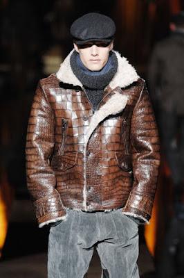 jaqueta de couro 2010-2011