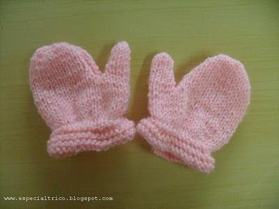 luvinha de trico bebe
