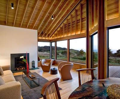 casas de madeira por dentro