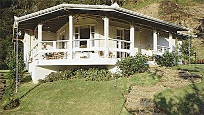 casas de madeira pintadas