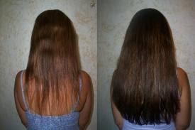 mega hair fotos antes e depois