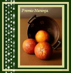 Premio Naranja.