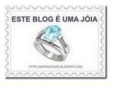 """Premio """"Este blog e uma jóia."""