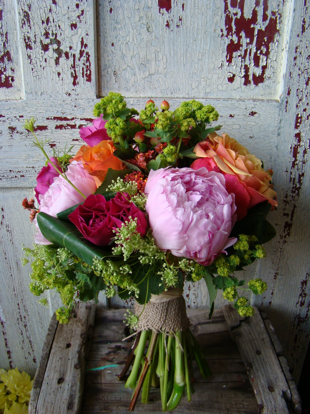 Flowers In Season For A June Wedding : Squamish florist billie s bouquet june th wedding flowers