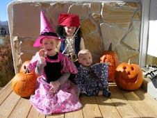 My lovely grandkids on halloween