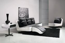 Model Sofa Kulit asli