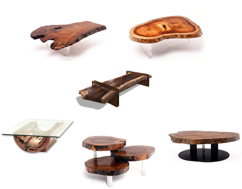 Organic chic design manifestdesign manifest for Modern wooden coffee tables