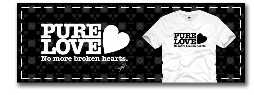 PURE LOVE (T-SHIRTS)