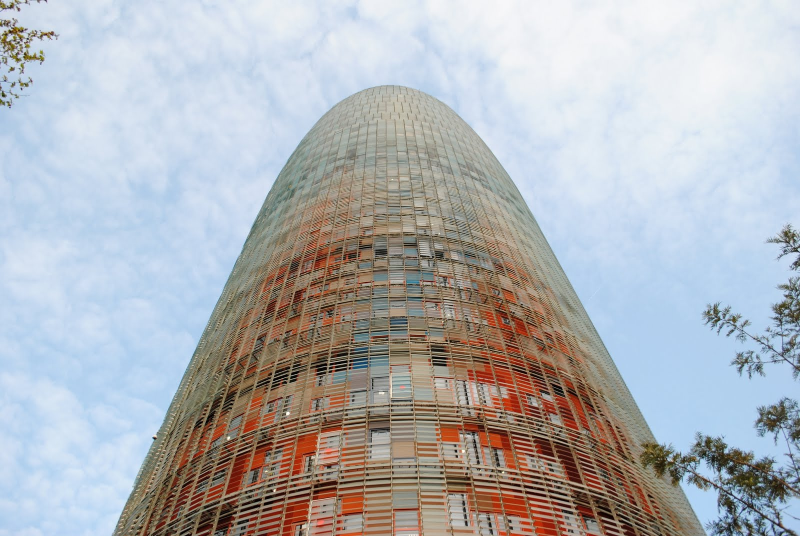 89dove torre agbar diagonal barcelona architect jean for Architecture jean nouvel