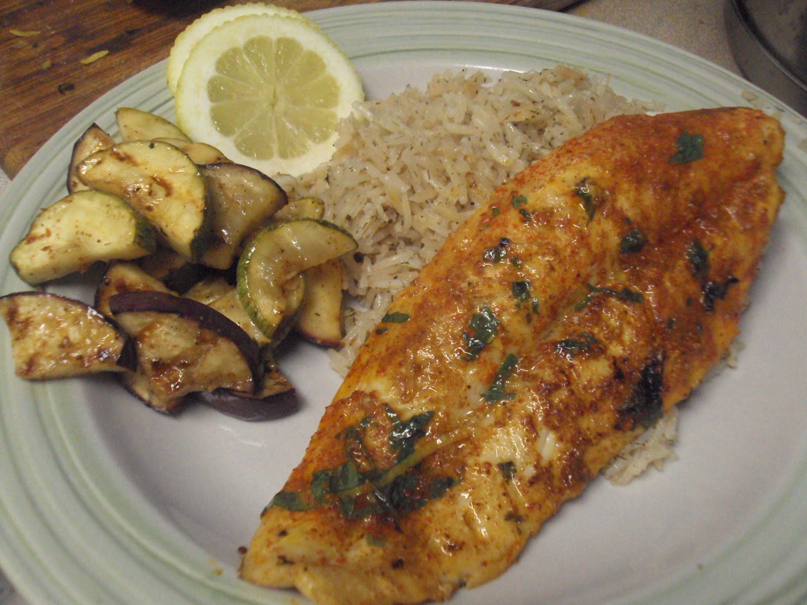 The muslim wife 39 s kitchen october 2010 for What is swai fish