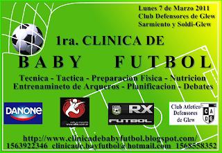1ra. CLÍNICA de BABY FÚTBOL