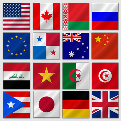 flags of world flags