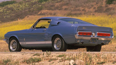 Wallpapers - Shelby Mustang GT500 (1967)