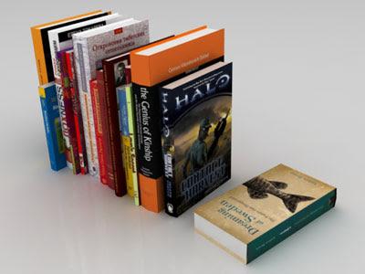 3D Models - Books