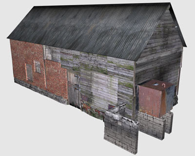 3D Model - Stables & Haystore