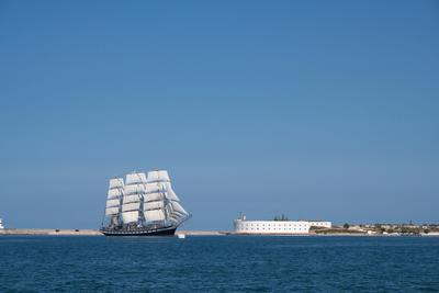 Frigate 'Pallada' in Sevastopol