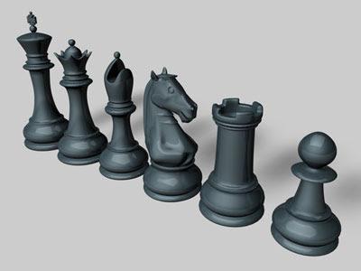 3D Models - Chess