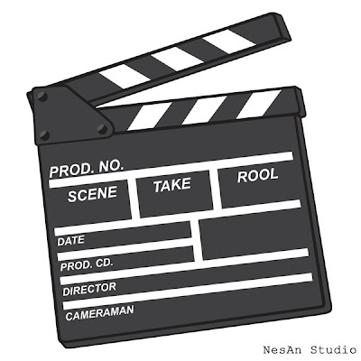 Vector Illustration - Clapperboard