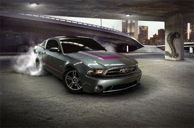 2010 Ford Mustang Customizer Screensaver