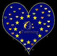 eTwinning heart